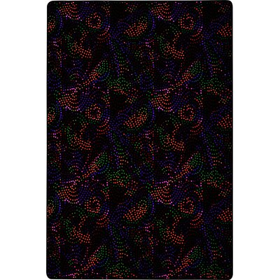 Purple/Orange/Green Area Rug Rug Size: Square 6