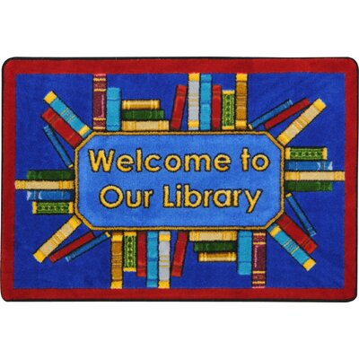 Library Books Doormat