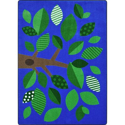 Shady Grove Blue/Green Area Rug Rug Size: Rectangle 78 x 109