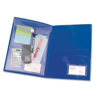 Avery-Dennison Protect And Store Folder, 2 Pockets, 3/PK, Navy at Sears.com