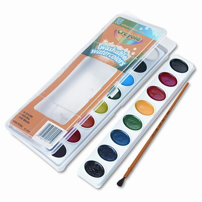 Washable Watercolor Paint (16/Set) (Set of 2) CYO530555