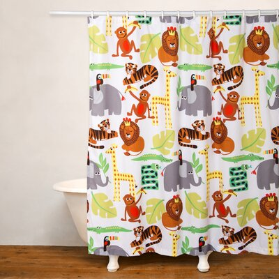 Jungle Love Shower Curtain