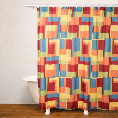 Paint Box Shower Curtain