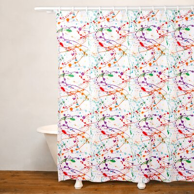 Splat Shower Curtain