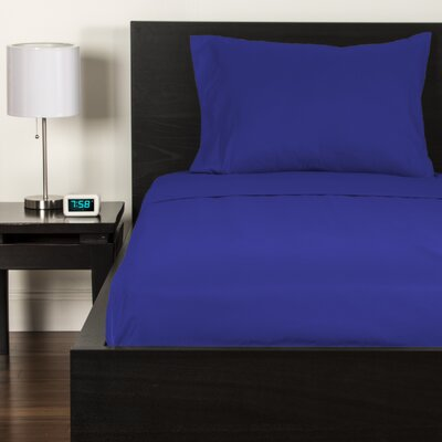 Sheet Set Color: Blueberry Blue, Size: Twin