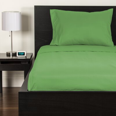 Sheet Set Size: Twin, Color: Jungle Green