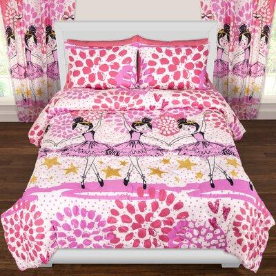 Crayola Twinkle Toes Comforter Set Size: Full/Queen