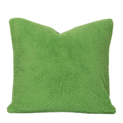 Throw Pillow Size: 26 H x 26 W x 6 D, Color: Jungle Green