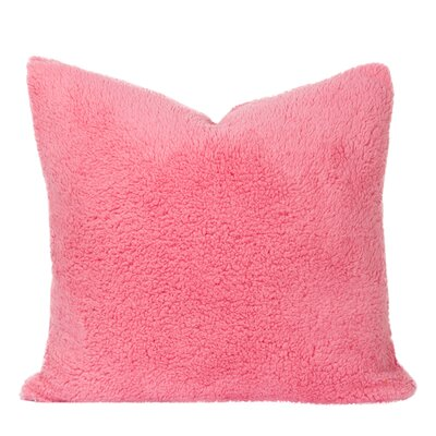 Throw Pillow Size: 20 H x 20 W x 6 D, Color: Cotton Candy