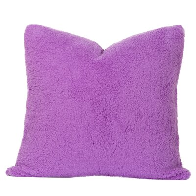 Throw Pillow Size: 26 H x 26 W x 6 D, Color: Vivid Violet