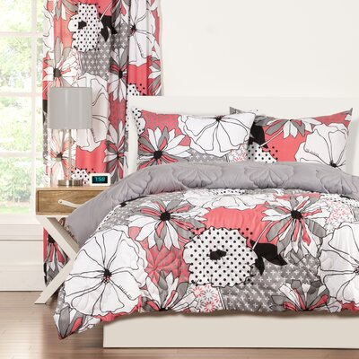 Crayola Flower Patch Comforter Set Size: Full/Queen