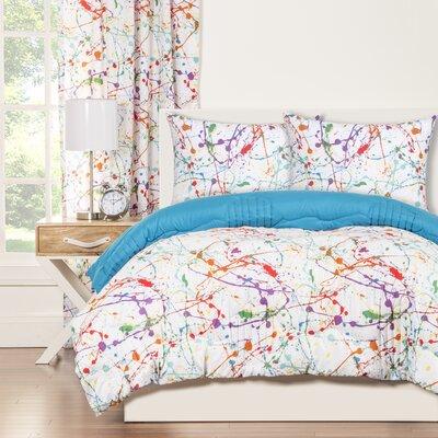 Crayola Splat Comforter Set Size: Full/Queen