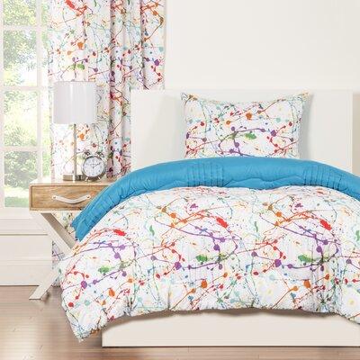 Crayola Splat Comforter Set Size: Twin