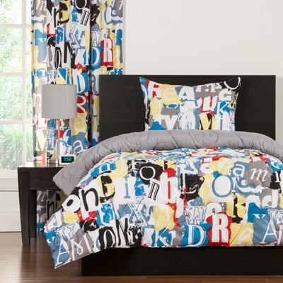 Crayola Dream On Comforter Set Size: Twin