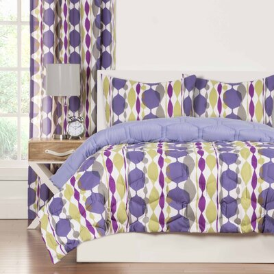 Crayola Be Jeweled Comforter Set Size: Full/Queen