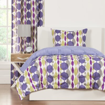 Crayola Be Jeweled Comforter Set Size: Twin