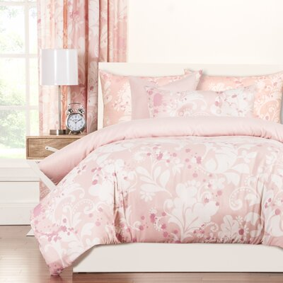 Crayola Eloise Duvet Cover Set Size: Queen