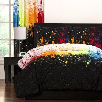 Crayola Cosmic Burst Comforter Set Size: Full/Queen
