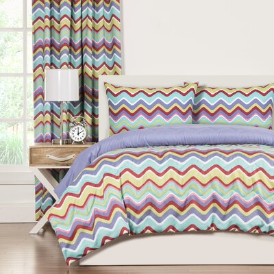 Crayola Mixed Palette Comforter Set Size: Full/Queen