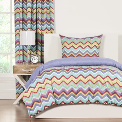 Crayola Mixed Palette Comforter Set Size: Twin