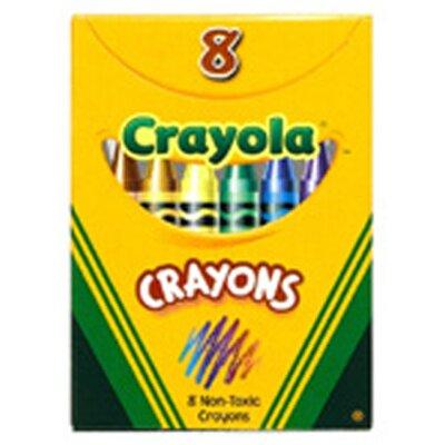 Crayola Regular Size 8 Colours (Set of 6) BIN8