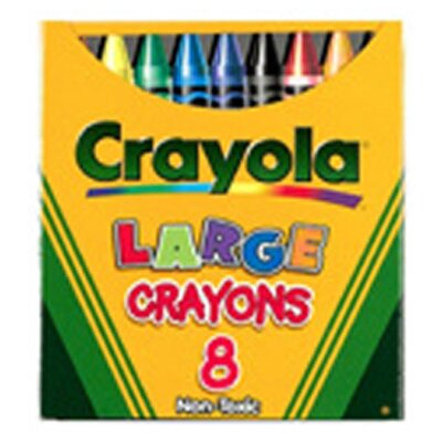 Crayola Large Size Tuck Box 8-pk (Set of 3) BIN80