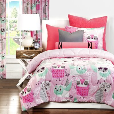 Night Owl Comforter Set Size: Full/Queen