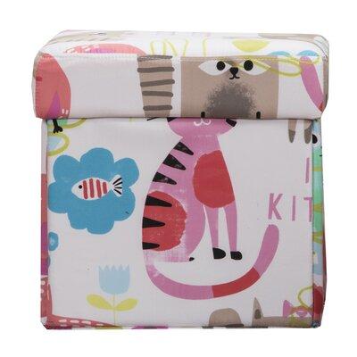 Purrty Cat Box Ottoman