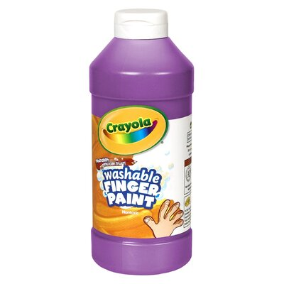 Washable Finger Paint 16oz Violet BIN131640