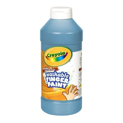 Washable Finger Paint 16oz Blue BIN131642