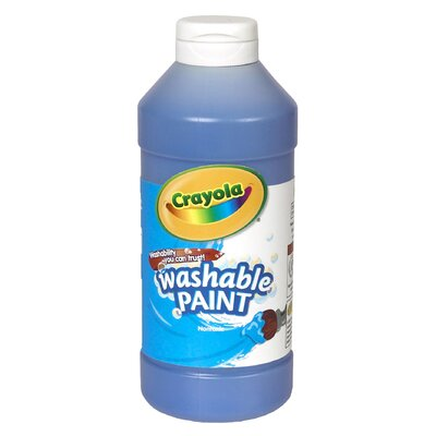 Crayola Washable Paint 16 Oz Blue (Set of 2) BIN201642
