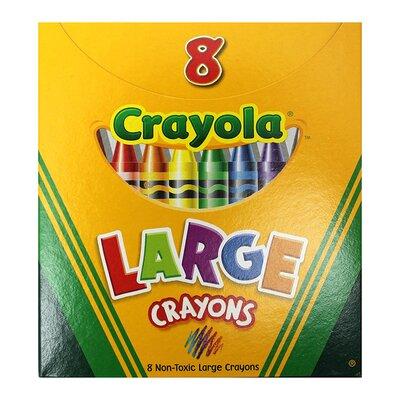 Crayola Large Size Tuck Box 8-pk (Set of 3) BIN80
