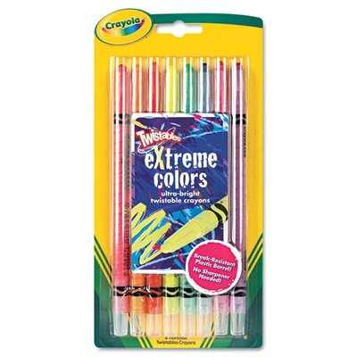 Twistable Crayons (8 Neon Colors/Set) (Set of 2) CYO529738