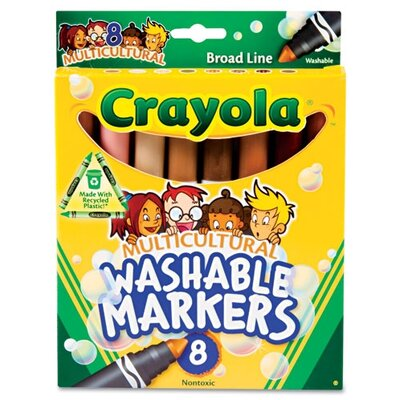 Washable Conical Point Marker (8/Pack) (Set of 2) CYO587801