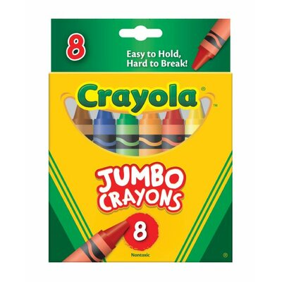 Jumbo Crayon Set (Set of 2) 52-0389