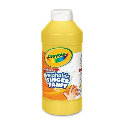 Washable Finger Paint Color: Yellow CYO551316034