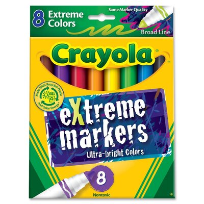 Extreme Markers (8 Pack) CYO588175