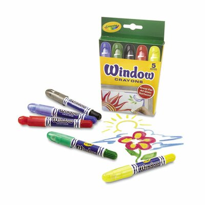 Washable Window Crayons (5 Pack) (Set of 2) CYO529765