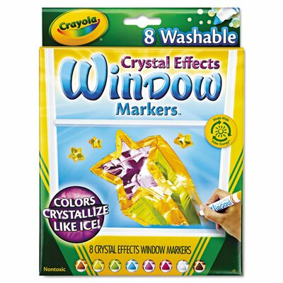 Washable Window Fx Markers (8 Pack) (Set of 2) CYO588174