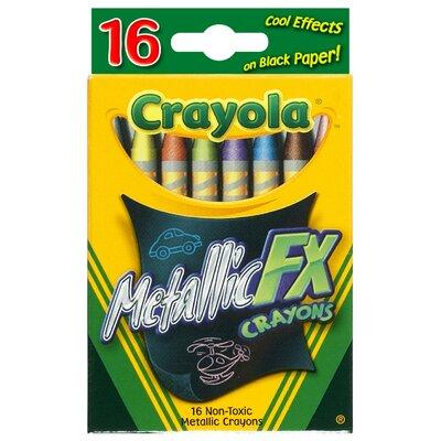Metallic FX Crayon (16 Count) 52-8816