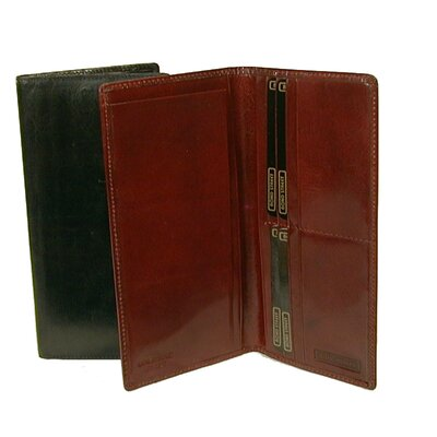 Bond Street Ltd Breast Pocket Secretary Wallet with Checkbook Accommodation - Color: Cognac at Sears.com