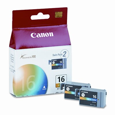 Bci16 (Bci-16) Ink Tank (75 Page-Yield, 2/Pack)