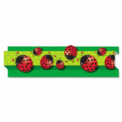 Ladybugs Pop-It Border and 8 Strips/Pack Classroom Border CDP108040
