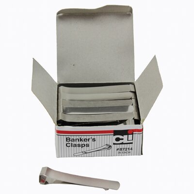 36/ct Bankers Clamps 3 1/4 Length