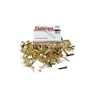 Brass Paper Fasteners 3/4 100/box (Set of 5)