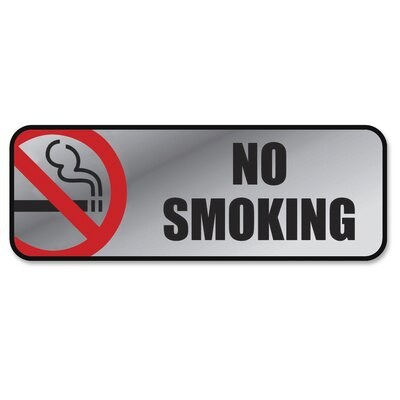 No Smoking Image/Message Sign