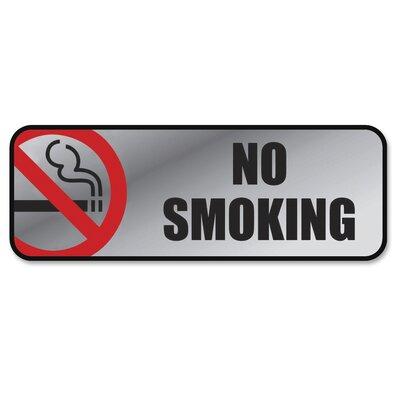 No Smoking Image/Message Sign
