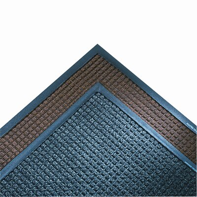 Super-Soaker Doormat Mat Size: Rectangle 21x911, Color: Dark Brown