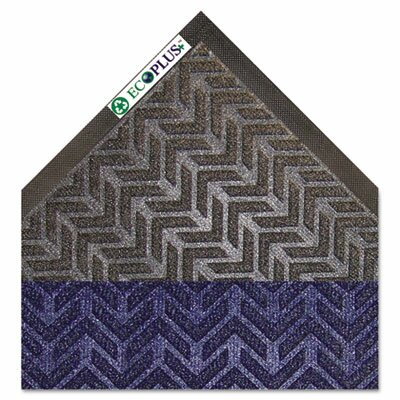 EcoPlus Doormat Color: Charcoal, Size: Rectangle 4 x 6