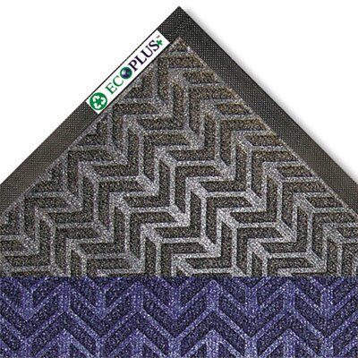 EcoPlus Doormat Color: Charcoal, Mat Size: Rectangle 3 x 10